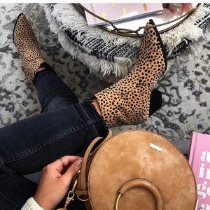 Shoes - Coachella collection leopard booties